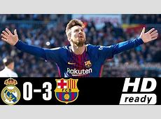 Real Madrid vs Barcelona 03 All Goals & Extended