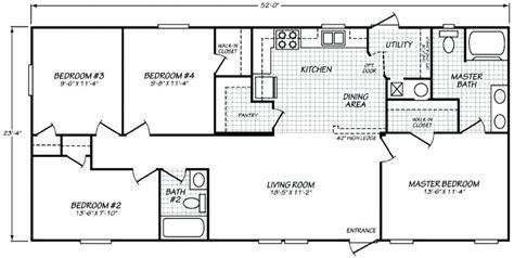 Fleetwood Mobile Home Floor Plans Homes Floor Plans
