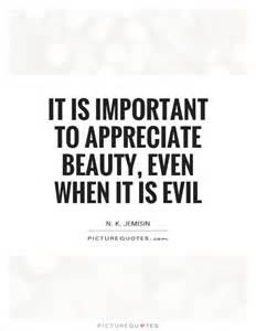 Beauty and Evil Quotes