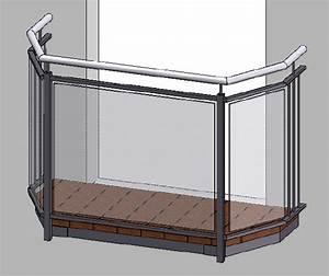 3d planung konstruktion metallbau kirchberger With französischer balkon mit glatz sonnenschirme reduziert