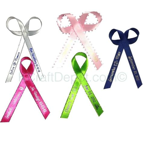 personalized ribbon    wedding birthday