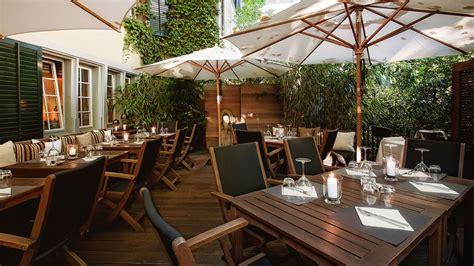 Garten Und Terrasse by Terrasse Garten Taos Restaurant Bar Zurich