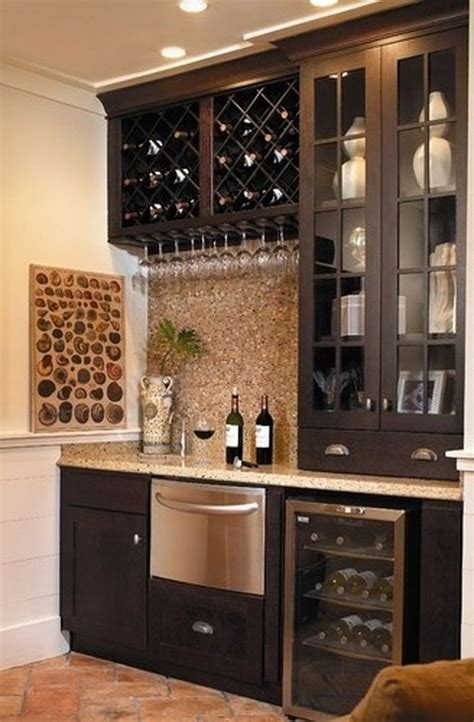 Gallery of 42 top small home bar cabinets, sets and wine bars made from oak, birch, walnut, cherry wood and more (2021!). 45+ Amazing Corner Bar Cabinet Ideas for Coffee and Wine Places - Page 8 of 48 | Home wine bar ...