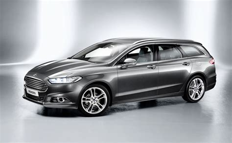 2013 Ford Mondeo Wagon And Hybrid Revealed  Photos (1 Of 10