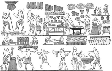 baking bread in ancient