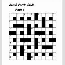 Sample Blank Crossword Template  9+ Documents Download In Pdf, Excel, Vector Eps