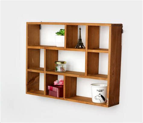 storage cube organizer aliexpress com buy hollow wooden wall shelf storage