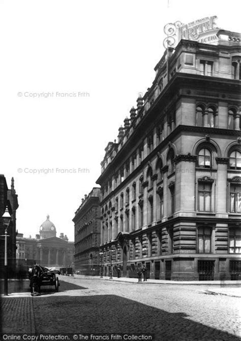 Manchester, The Grand Hotel c.1885 - Francis Frith