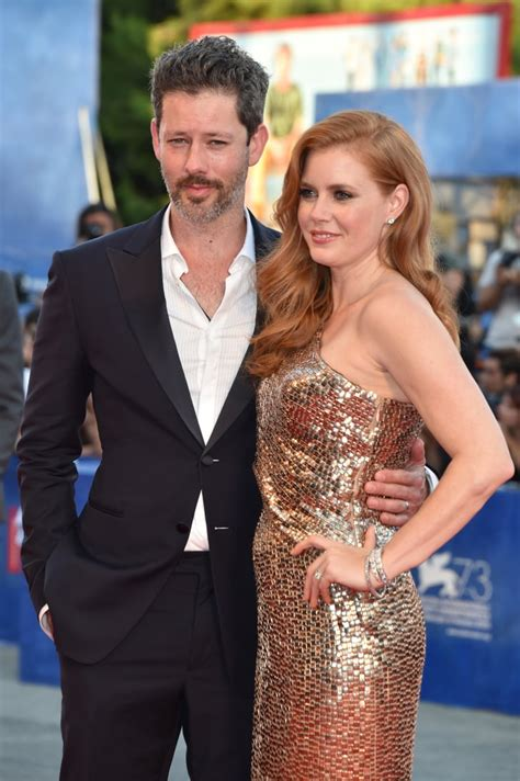 amy adams  husband kissing  venice film festival