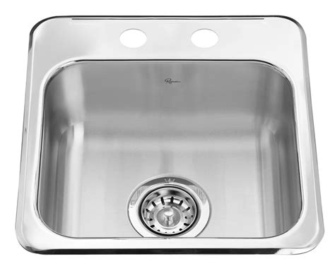 cheap stainless steel kitchen sinks stainless steel single bar sink 15 x 15 x 6 in 8179