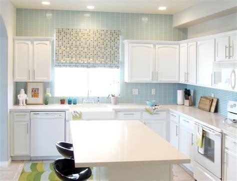 blue kitchen tiles ideas the kitchen backsplash more beautiful