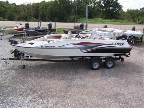 Lowe Deck Boats For Sale Used lowe sd224 sport deck boats for sale