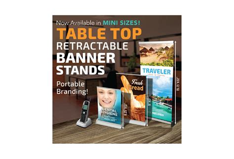 table top banner display tabletop retractable banner stands the best banner 2017