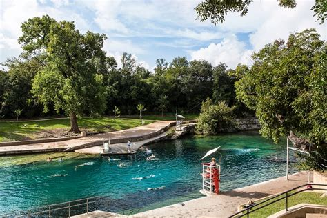 Barton Springs Pool  A Texas Springfed Swimming Hole