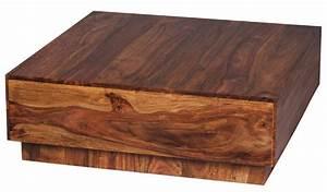 Couchtisch Holz Dunkel : finebuy couchtisch massiv holz sheesham 90 cm breit design wohnzimmer tisch dunkel braun ~ Frokenaadalensverden.com Haus und Dekorationen