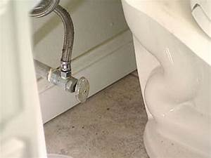How To Replace A Toilet And Connect The Water Lines