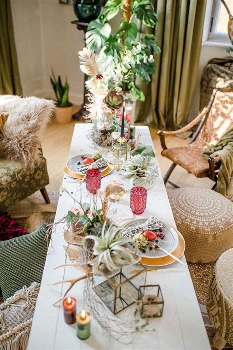 boho hochzeit mit pampasgras boho hochzeit dekoration