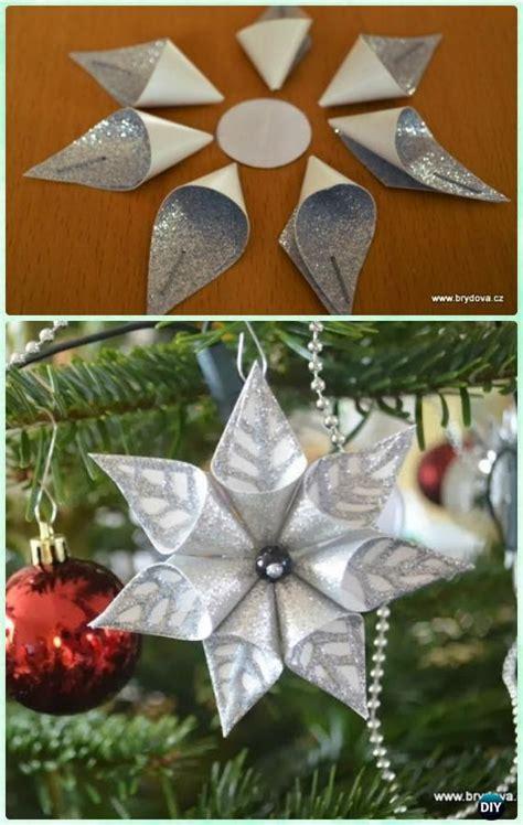Best 25+ Paper Christmas Ornaments Ideas On Pinterest