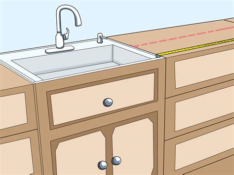 How Do You Measure A Kitchen Sink by How To Measure Kitchen Cabinets 11 Steps With Pictures