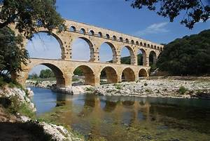 Pont Du Gard Aqueduct (Illustration) - Ancient History ...