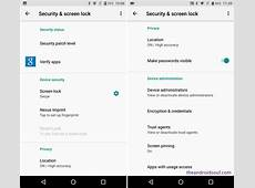 Android Oreo 80 Settings guide Where are your options