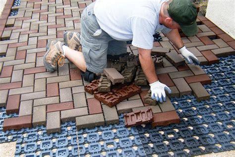 concrete  pavers professional deck builder