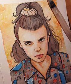 I draw Dustin from Stranger Things   Desenhos netflix ...