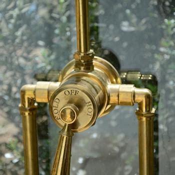 shower exposed plumbing design ideas