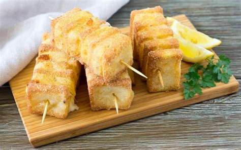 ricetta di mozzarella in carrozza ricetta spiedini di mozzarella in carrozza cucchiaio d