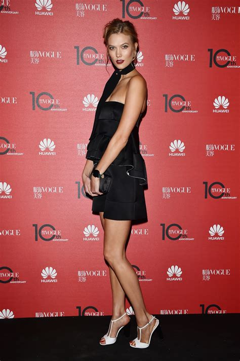 Karlie Kloss Vogue China Anniversary Celebration