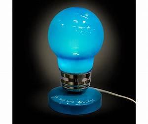 Lampe à Clipser : lampe ampoule design fun humour lumi re bleu 4416 ~ Teatrodelosmanantiales.com Idées de Décoration