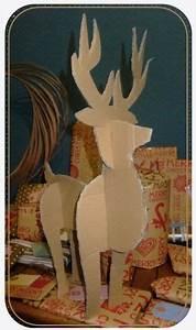 Renne En Carton : fabriquer un renne en carton craie h tive bricolages xmas crafts christmas et christmas deco ~ Melissatoandfro.com Idées de Décoration