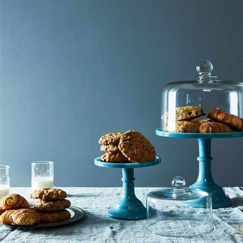 Blown Glass Cake Stand Dome on Food52