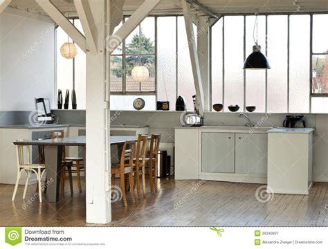loft kitchen design ideas interior loft kitchen stock image image of empty beam 7148