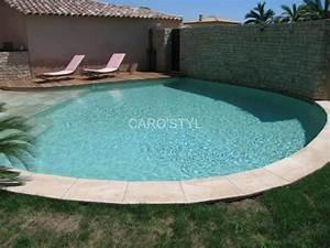 carrelage pour abords de piscine a lyon 69000 caro39styl With wonderful plage piscine pierre naturelle 7 les piscines de forme libre