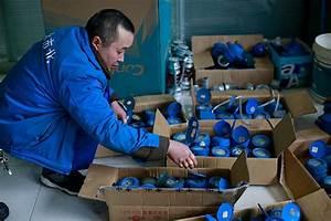 Plumbers work overtime to repair water meters - China ...