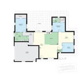 maison de plain pied 2 d 233 du plan de maison de plain pied 2 faire construire sa maison