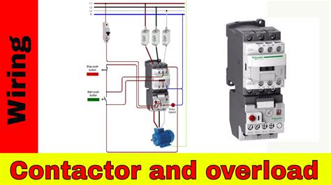How Wire Contactor Overload Direct Online