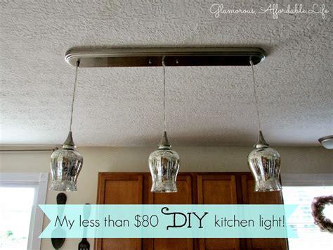 someday crafts diy kitchen light
