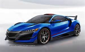 Acura NSX Type-R Rendered » AutoGuide com News