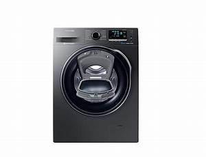 Samsung Waschmaschine Schwarz : samsung ww80k6404qx freistehend frontlader 8kg 1400rpm a schwarz waschmaschine schwarz in ~ Frokenaadalensverden.com Haus und Dekorationen