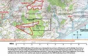 Pictures And Maps Of 1980 Rendlesham Ufo Incident Area