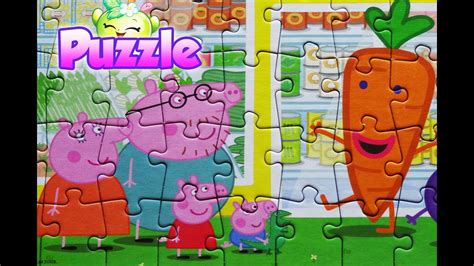 tappeto puzzle peppa pig peppa pig puzzle jigsaw toys for rompecabezas