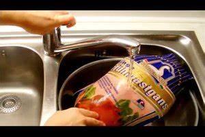 Gefrorene Garnelen Zubereiten : video eine gans schnell auftauen so geht 39 s ~ Watch28wear.com Haus und Dekorationen