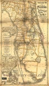 Old Florida Railroad Maps