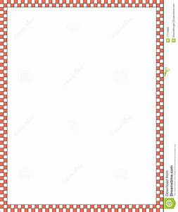 Red And White Border Royalty Free Stock Photo - Image ...