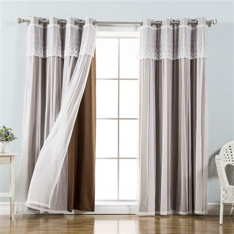 Bedroom Curtains With Valance by Bedroom Curtains With Attached Valance Flisol Home