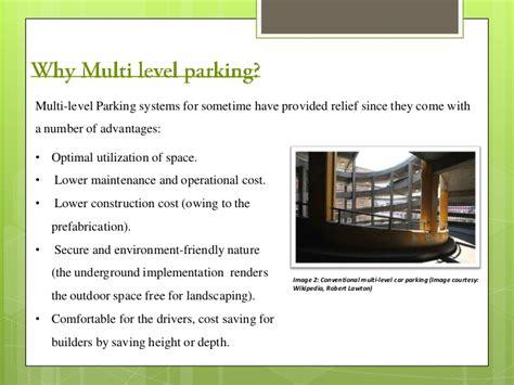 Multi Level Car Parking In India
