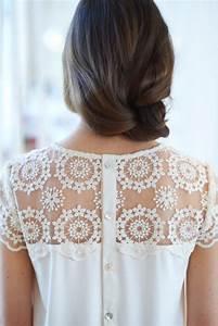 Spitze Zum Nähen : romantisches shirt mit spitze shirt mit spitze jersey ~ Lizthompson.info Haus und Dekorationen