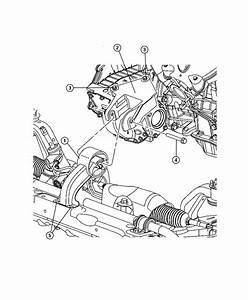 Dodge Journey Bracket  Engine Mount  Rear  Transmission  Mounting  Module